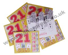 GOLD 21 BREAK OPEN TICKETS - 1 BOX